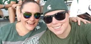 Sarah attended Michigan State Spartans vs. Utah State Aggies - NCAA Football on Aug 31st 2018 via VetTix