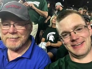 Paul attended Michigan State Spartans vs. Utah State Aggies - NCAA Football on Aug 31st 2018 via VetTix