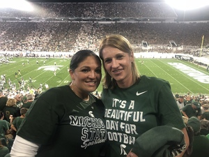 Jaime attended Michigan State Spartans vs. Utah State Aggies - NCAA Football on Aug 31st 2018 via VetTix
