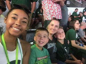 Joshua attended Michigan State Spartans vs. Utah State Aggies - NCAA Football on Aug 31st 2018 via VetTix