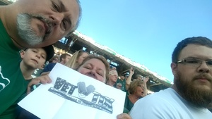 Robert attended Michigan State Spartans vs. Utah State Aggies - NCAA Football on Aug 31st 2018 via VetTix