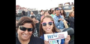Irene attended 2018 Honda Civic Tour Presents Charlie Puth Voicenotes on Aug 15th 2018 via VetTix