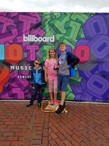 Daniel attended Billboard Hot 100 Music Festival - Sunday Pass on Aug 19th 2018 via VetTix