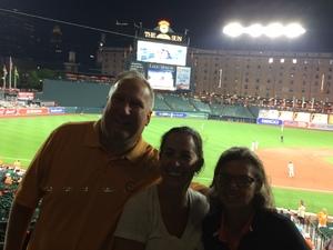 Gary attended Baltimore Orioles vs. Oakland Athletics - MLB on Sep 12th 2018 via VetTix
