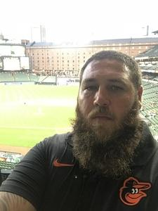 Terrence attended Baltimore Orioles vs. Oakland Athletics - MLB on Sep 12th 2018 via VetTix