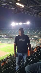 Frank attended Baltimore Orioles vs. Oakland Athletics - MLB on Sep 12th 2018 via VetTix