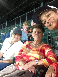 Rita attended Baltimore Orioles vs. Oakland Athletics - MLB on Sep 12th 2018 via VetTix