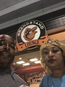 Wayne attended Baltimore Orioles vs. Oakland Athletics - MLB on Sep 12th 2018 via VetTix