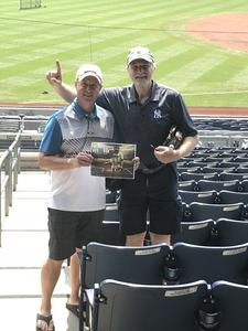 Gary attended New York Yankees vs. Tampa Bay Rays - MLB on Aug 16th 2018 via VetTix