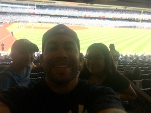 Kenneth attended New York Yankees vs. Tampa Bay Rays - MLB on Aug 16th 2018 via VetTix