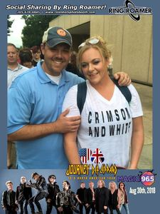 Chasity attended Live Nation Presents Def Leppard / Journey - Pop on Aug 20th 2018 via VetTix