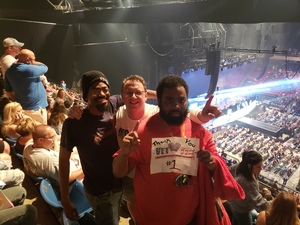 London attended Live Nation Presents Def Leppard / Journey - Pop on Aug 20th 2018 via VetTix