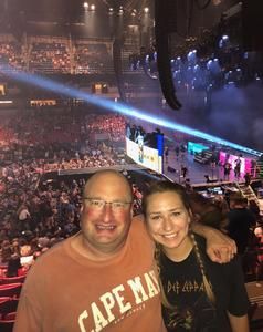 Dave attended Live Nation Presents Def Leppard / Journey - Pop on Aug 20th 2018 via VetTix