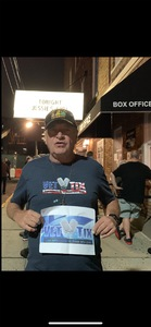 Ted attended Back to the Eighties Show With Jessie's Girl - Undefined on Sep 21st 2018 via VetTix