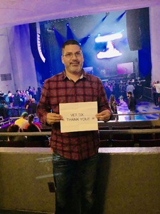 Marcos attended Back to the Eighties Show With Jessie's Girl - Undefined on Sep 21st 2018 via VetTix
