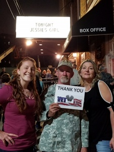 Richard attended Back to the Eighties Show With Jessie's Girl - Undefined on Sep 21st 2018 via VetTix
