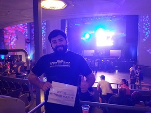Dominick attended Back to the Eighties Show With Jessie's Girl - Undefined on Sep 21st 2018 via VetTix