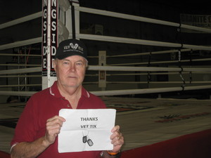 Robert attended Thai Championship Boxing - 17 - Presented by Cagezilla on Sep 15th 2018 via VetTix
