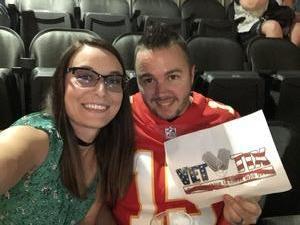Matt attended Keith Urban With Kelsea Ballerini on Aug 17th 2018 via VetTix