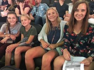 Seth attended Keith Urban With Kelsea Ballerini on Aug 17th 2018 via VetTix