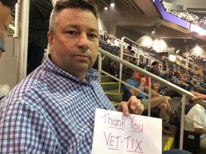 Kevin attended Keith Urban With Kelsea Ballerini on Aug 17th 2018 via VetTix