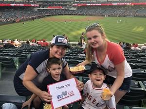 Liliana attended Los Angeles Angels vs. Colorado Rockies - MLB on Aug 27th 2018 via VetTix