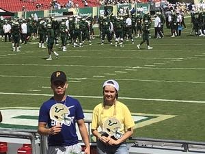 James attended USF Bulls vs. Georgia Tech Yellow Jackets - NCAA Football on Sep 8th 2018 via VetTix