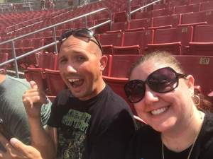 Roberto attended USF Bulls vs. Georgia Tech Yellow Jackets - NCAA Football on Sep 8th 2018 via VetTix