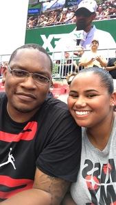 Clarissa attended USF Bulls vs. Georgia Tech Yellow Jackets - NCAA Football on Sep 8th 2018 via VetTix
