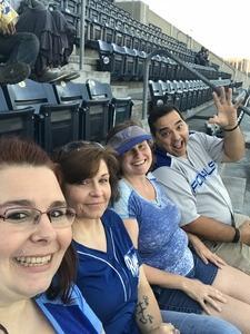 Rhonda attended Kansas City Royals vs. Chicago White Sox - MLB on Sep 12th 2018 via VetTix