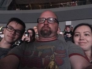 Patrick attended Panic! At the Disco Pray for the Wicked Tour on Aug 18th 2018 via VetTix
