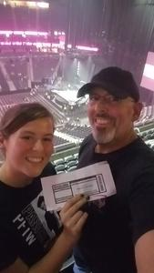 Mark attended Panic! At the Disco Pray for the Wicked Tour on Aug 18th 2018 via VetTix