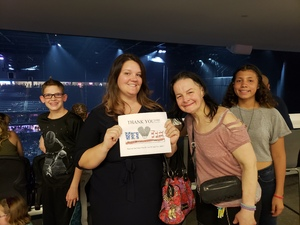 Krystal attended Panic! At the Disco Pray for the Wicked Tour on Aug 18th 2018 via VetTix