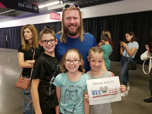 David attended Panic! At the Disco Pray for the Wicked Tour on Aug 18th 2018 via VetTix