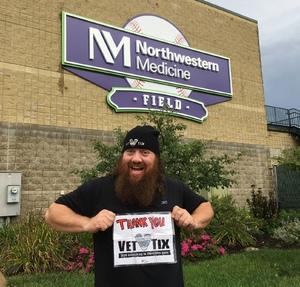Jeremy attended Kane County Cougars vs. Wisconsin Timberrattlers -milb on Sep 3rd 2018 via VetTix