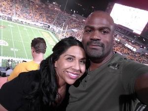 Michael attended Arizona State University Sun Devils vs. UTSA - NCAA Football on Sep 1st 2018 via VetTix