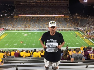 RONALD attended Arizona State University Sun Devils vs. UTSA - NCAA Football on Sep 1st 2018 via VetTix
