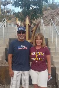 Daniel attended Arizona State University Sun Devils vs. UTSA - NCAA Football on Sep 1st 2018 via VetTix
