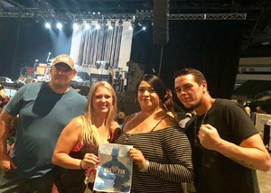Val attended Loudwire's Gen X Summer - Buckcherry - P. O. D. - Lit and Alien Ant Farm on Aug 22nd 2018 via VetTix