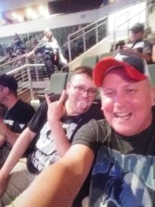 Gabriel attended Loudwire's Gen X Summer - Buckcherry - P. O. D. - Lit and Alien Ant Farm on Aug 22nd 2018 via VetTix