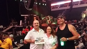 gerry attended Loudwire's Gen X Summer - Buckcherry - P. O. D. - Lit and Alien Ant Farm on Aug 22nd 2018 via VetTix