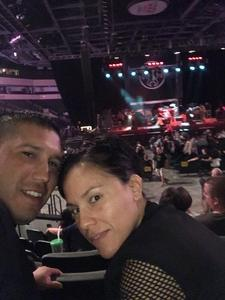 Roberto attended Loudwire's Gen X Summer - Buckcherry - P. O. D. - Lit and Alien Ant Farm on Aug 22nd 2018 via VetTix