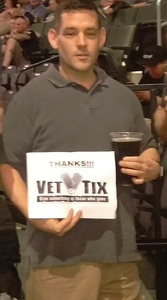Carlos attended Loudwire's Gen X Summer - Buckcherry - P. O. D. - Lit and Alien Ant Farm on Aug 22nd 2018 via VetTix