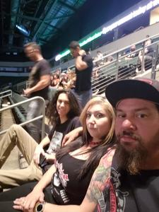 Daniel attended Loudwire's Gen X Summer - Buckcherry - P. O. D. - Lit and Alien Ant Farm on Aug 22nd 2018 via VetTix