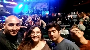 Antonio attended Loudwire's Gen X Summer - Buckcherry - P. O. D. - Lit and Alien Ant Farm on Aug 22nd 2018 via VetTix