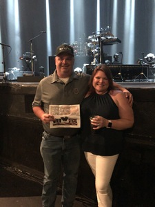 Gregory attended Lionel Ritchie - Saturday on Aug 18th 2018 via VetTix