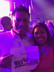 Phuong attended Lionel Ritchie - Saturday on Aug 18th 2018 via VetTix