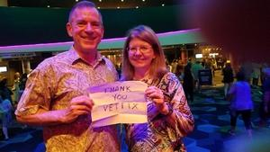 Carl attended Lionel Ritchie - Saturday on Aug 18th 2018 via VetTix