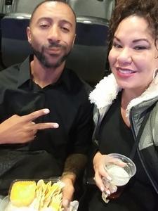 Jessie attended Sam Smith 8/21 at Pepsi Center in Denver on Aug 21st 2018 via VetTix