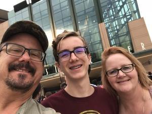 Jerry attended Sam Smith 8/21 at Pepsi Center in Denver on Aug 21st 2018 via VetTix